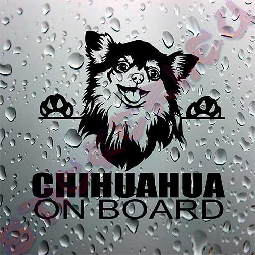 Стикер Chihuahua on board