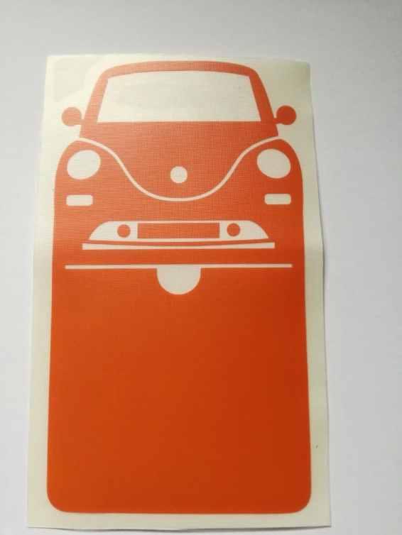 Vignette simple New Beetle Volkswagen