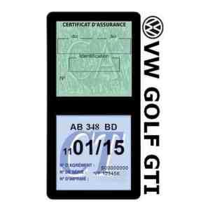 GOLF GTI vignette assurance Volkswagen