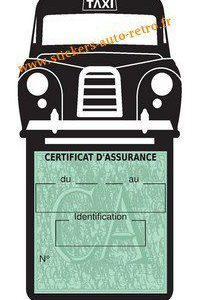Porte assurance Taxi Londonien Anglaise