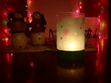 Love a warm glow of a candle