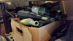 Glass Wine Bottles
