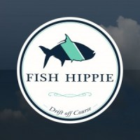 Fish Hippie Window Sticker