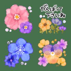 ♡大人の女性✳︎お花の敬語✳︎絵文字♡