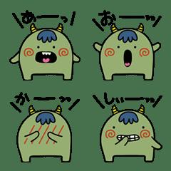 表情あり_ゆるゆるモンスター絵文字