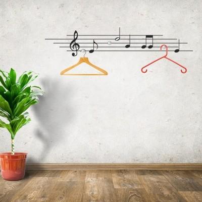 Anhuib 55 pezzi adesivi da parete musicali,musicale note adesivi murali,stickers murali nota musicale per stanza della musicale,rimovibili vinile nero. Sticker Murali Musica Per Adulti E Bambini Sticker Murali