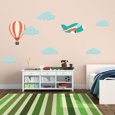 Dalla lavanderia alla camera da letto, fino alla cucina,. 5 Adesivi Murali Per La Cameretta Di Neonati Stickers Murali