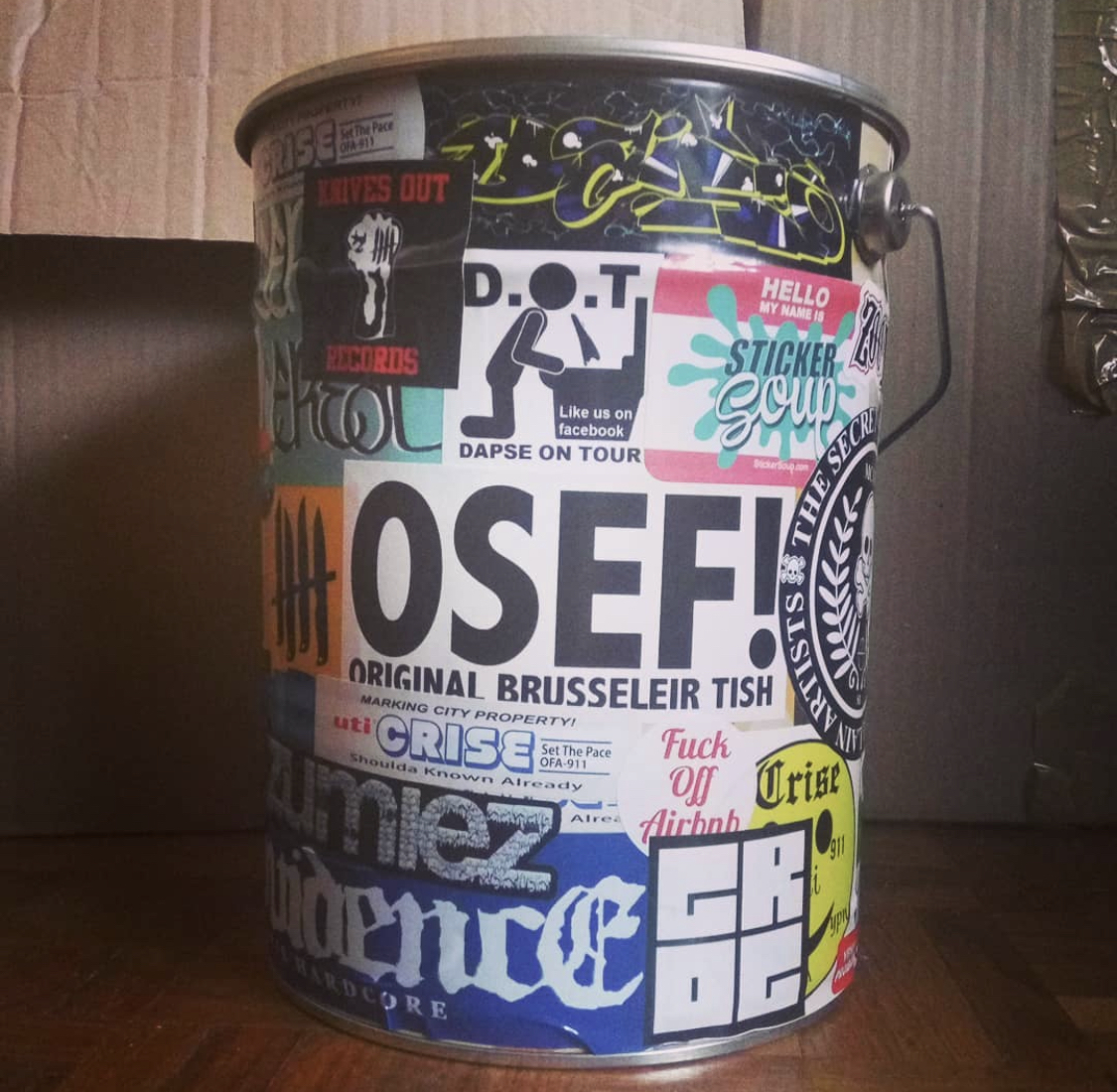 StickerSoup Trash can from France