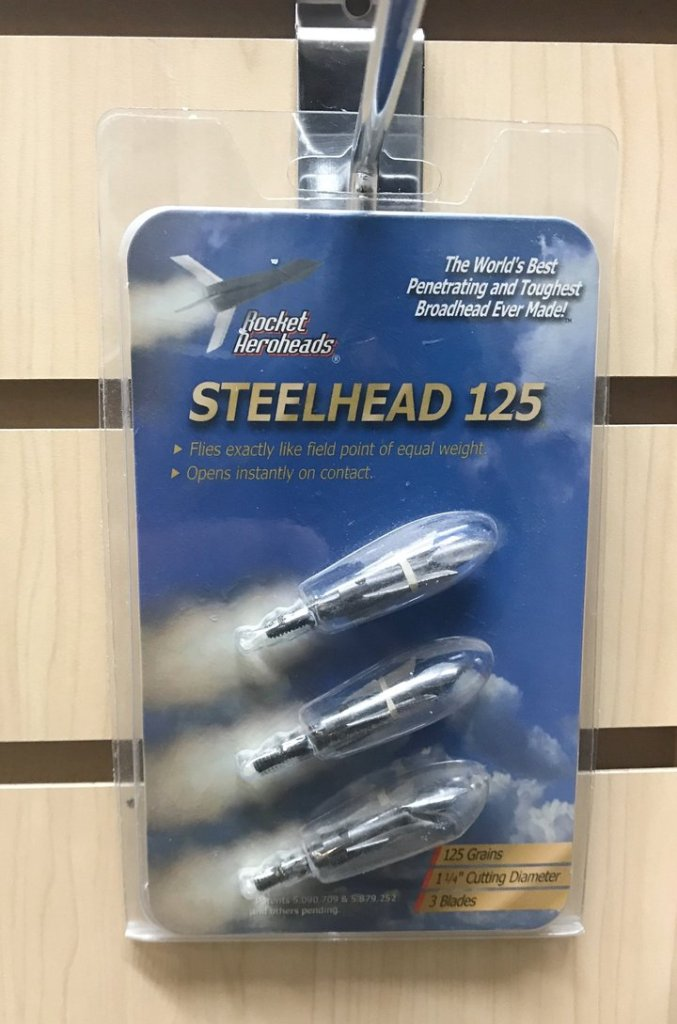Rocket Steelhead 125 Broadhead