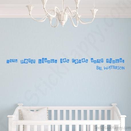 Dcoration Chambre De Bb Stickers Dcalcomanie