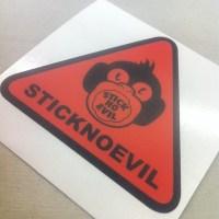 Triangle Shape Stickers