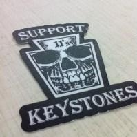 Support Keystones Sticker