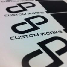 DP Customworks Diecut Stickers