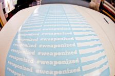 Weaponized Diecut Stickers