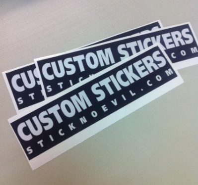 Custom Stickers Bumper Sticker