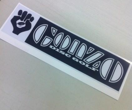 Gonzo Bumper Sticker