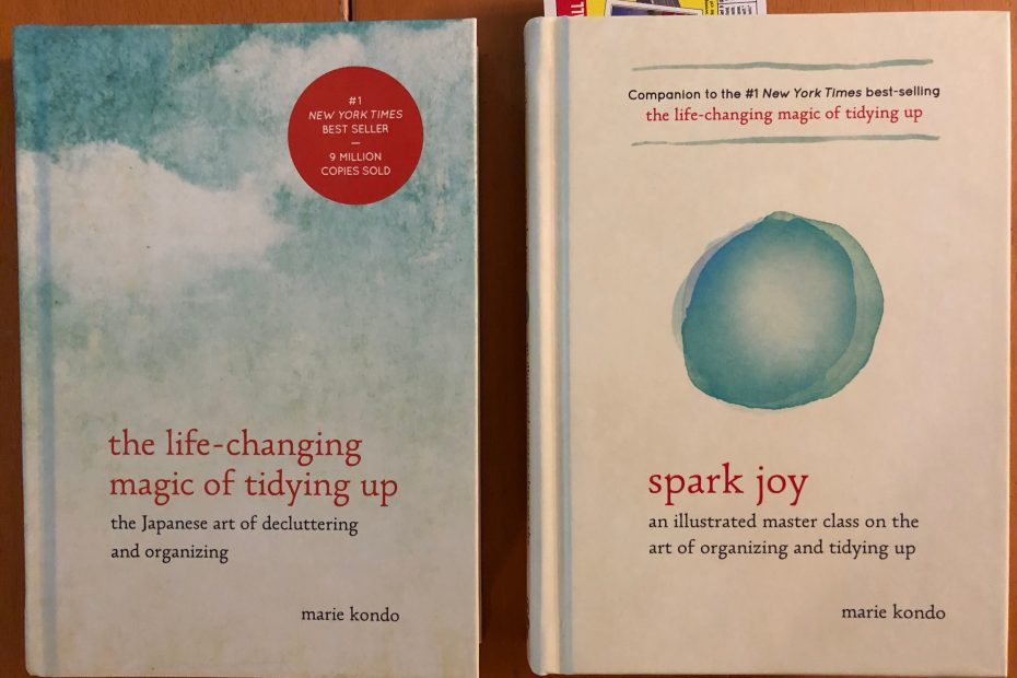 Book Review – The Life Changing Magic of Tidying Up – Sticks