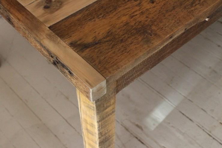 sticks and bricks 2 inch farm table