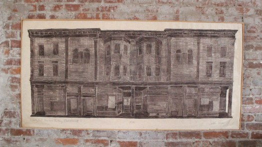 Large woodcut chestertown mass