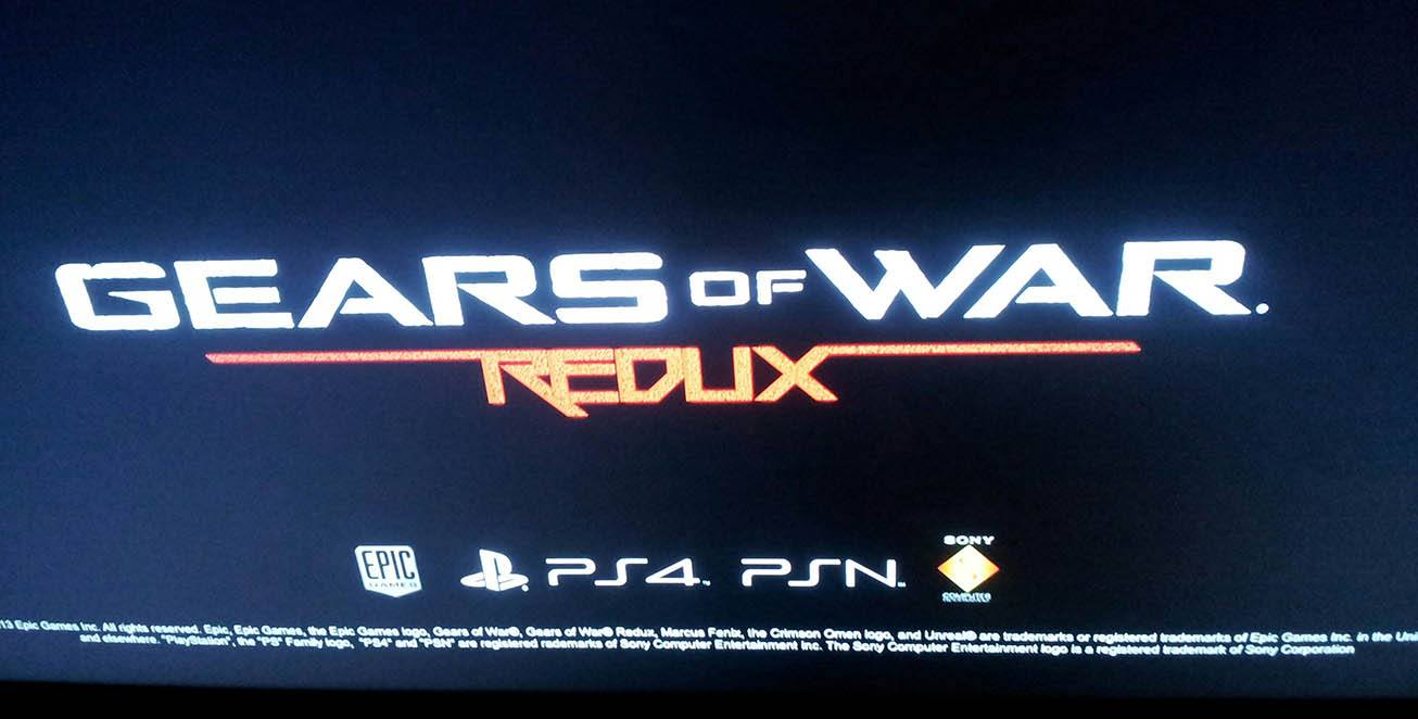Rumor Gears Of War Redux In Development For PlayStation 4