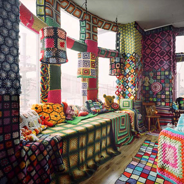 Granny Square Wreck Room