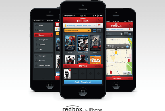 Redbox iPhone (2010)