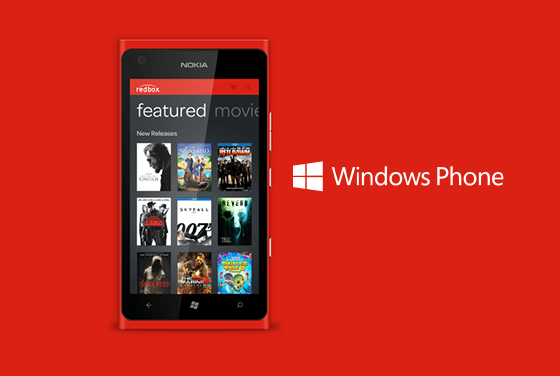 Redbox Windows Phone