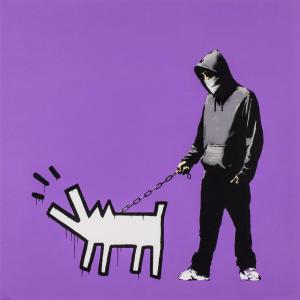 banksy, choose your weapon, signed, stick together gallery