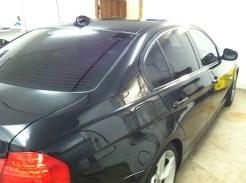 Black BMW After Auto Window Tinting