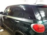 Fiat 500L After Auto Window Tinting