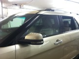New Explorer Before Door Window Tinting
