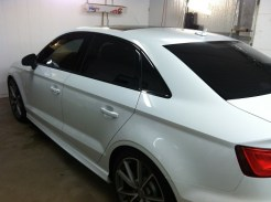 Audi Sport S3 After Mobile Window Tinting