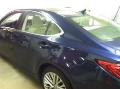 blue-lexus-before-car-window-tinting