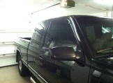 GMC 1500 After specialty window tinting