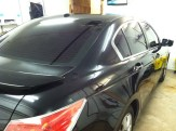 Black Accord After Mobile Window Tinting
