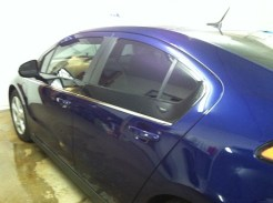 Blue Volt After Mobile Window Tinting