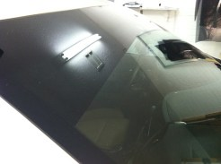 Cadillac ATS After Visor Tint