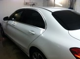 Mercedes C300 After Car Tinting 2