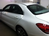 Mercedes C300 Before Car Tinting 1