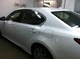 Lexus White Before Mobile Window Tinting
