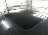 After privacy sunroof glass tinting