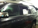 Before Brown SUV window tinting