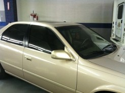 Car After Mobile Stripping and new tint