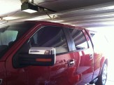 RED F150 After Truck Tinting