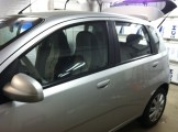 Aveo Chevy Before Mobile Auto Tinting