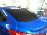 Blue Focus After New Auto Window Tint