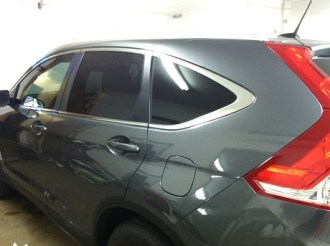 CRV After Specialty Mobile Window Tinting