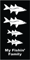 Family Fish Snook Decal