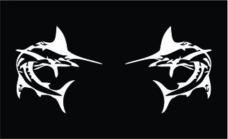 Marlin Set Decal