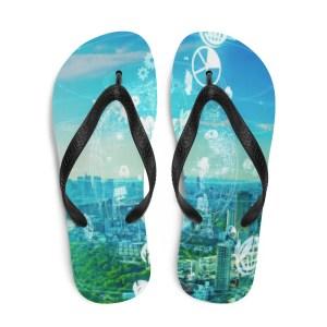 Skyline Flip-Flops